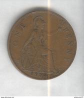 1 Penny Angleterre 1934 Georges V SUP - 1662-1816 : Acuñaciones Antiguas Fin XVII° - Inicio XIX° S.