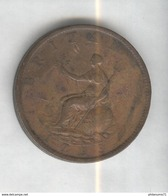 1 Penny Angleterre 1799  Georges III TTB+ - 1662-1816 : Acuñaciones Antiguas Fin XVII° - Inicio XIX° S.