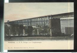 CPA Quebec - Montréal - C.P.R. Bridge And Caughnawaga - Non Circulée - Montreal