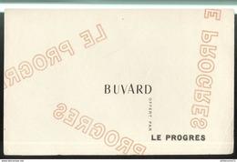 Buvard Le Progrès ( De Lyon ) - Presse Quotidienne Régionale - Vloeipapier