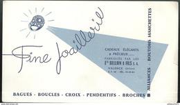 Buvard Bijouterie Joaillerie Bellon - Valence - Très Bon état - Vloeipapier