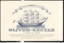 Buvard Oliver Banyuls Sur Mer - Très Bon état - Vloeipapier