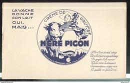 Buvard Mère Picon - Crème De Gruyère - Bon état - Vloeipapier