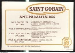 Buvard Saint-Gobain - Antiparasitaires - Très Bon état - Vloeipapier