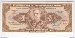 Billet 20 Cruzeiros Brésil / Brasil / Brazil 1958 - Neuf - Amato C 085 - Brazil
