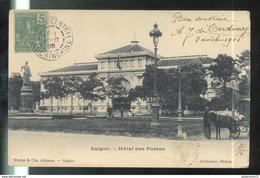 CPA Indochine - Saïgon - Hôtel Des Postes - Circulée 1905 - Viêt-Nam