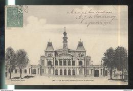 CPA Indochine - Saïgon - Le Nouvel Hôtel De Ville - Circulée 1905 - Viêt-Nam
