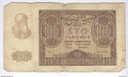 Billet 100 Zlotych Pologne 1940 - Pologne