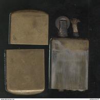 Briquet Feudor 69-2 Plaque Taxe CI - Briquets