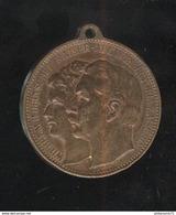 Jeton Allemagne Wilhelm II Deutscher Kaiser - Augusta Victoria Kaiserin - Monarchia/ Nobiltà