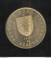 1 Euro De Beaune ( 21 ) 1997 - Hotel-Dieu - L'Europe à Beaune - Euros Des Villes - Euros Of The Cities