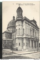 CPA Quebec - Montréal - Eglise St Jean Baptiste - Non Circulée - Montreal