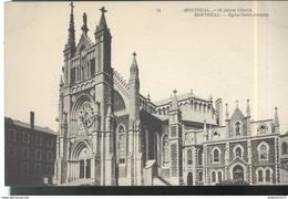 CPA Quebec - Montréal - Eglise St Jacques - Non Circulée - Montreal