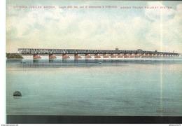 CPA Quebec - Montréal - Victoria Jubilee Bridge , Grand Trunk Railway System - Non Circulée - Montreal