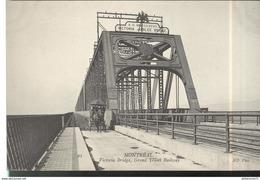 CPA Quebec - Montréal - Victoria Bridge , Grand Trunk Railway  - Non Circulée - Montreal