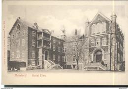 CPA Quebec - Montréal - Hotel Dieu  - Non Circulée - Montreal