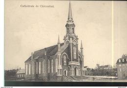 CPA Quebec - Cathédrale De Chicoutimi - Circulée 1915 - Chicoutimi