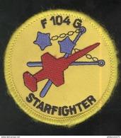 Insigne D'épaule à Coudre F104G Starfighter - Armée De L'air
