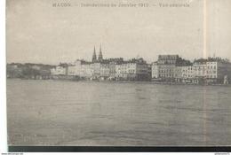CPA Macon - Inondation De 1910 - Vue Générale - Macon