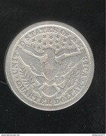 Quarter Etats Unis / United States 1892 - 1838-1891: Seated Liberty (Liberté Assise)