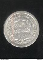 1 Dime Etats Unis / USA 1856 - Émissions Fédérales
