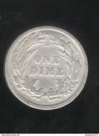 1 Dime Etats Unis / USA 1899 - Federal Issues