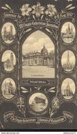CPA Quebec - Montréal - Souvenir Du 21ème Congrès Eucharistique International Sept. 1910 Circulée 1910 - Montreal
