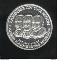 Jeton Landing On The Moon 21.7.69 Proof - Frappe Monnaie De Paris - USA