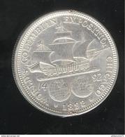 Half Dollar Etats Unis / United States 1892 World's Columbian Exposition Chicago - SUP - 1892-1915: Barber