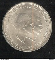 10 Couronnes Danemark 1967 Mariage De La Princesse Margrethe -  TTB++ - Dänemark