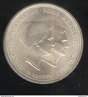 10 Couronnes Danemark 1967 Mariage De La Princesse Margrethe -  TTB++ - Danemark