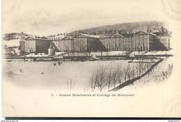 CPA Québéc - Grand Séminaire Et Collège De Montréal - Non Circulée - Montreal