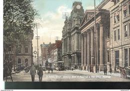 CPA Quebec - Montréal - St James Street , Bank Of Montréal , Post Office - Non Circulée - Montreal