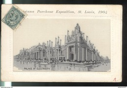 CPA Saint Louis - Louisiana Purchase Exposition 1904 - Palace Of Electricity - Non Circulée - St Louis – Missouri