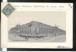 CPA Saint Louis - Louisiana Purchase Exposition 1904 - Palace Of Education - Non Circulée - St Louis – Missouri