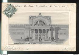 CPA Saint Louis - Louisiana Purchase Exposition 1904 - Main Entrance , Palace Of Art - Circulée 1905 - St Louis – Missouri