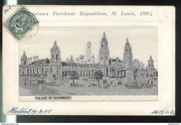 CPA Saint Louis - Louisiana Purchase Exposition 1904 - Palace Of Machinery - Circulée 1905 - St Louis – Missouri