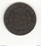 5 Centimos Espagne / Spain / España 1879 - SUP - Other