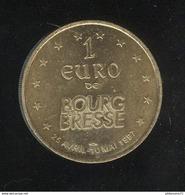 1 Euro Des Villes Bourg En Bresse - Eglise De Brou - 1997 - Euros Of The Cities
