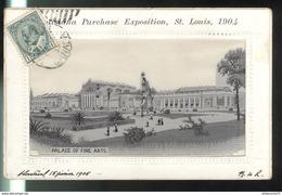 CPA Saint Louis - Louisiana Purchase Exposition 1904 - Palace Of Fine Arts - Circulée 1905 - St Louis – Missouri