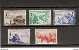 Série 5 Timbres LVF Légion Des Volontaires Français - Borodino - Etat Neuf - France