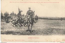 CPA - Revue Du 20ème Corps D'Armée à Malzéville - Le Défilé De L'Infanterie - Other Municipalities