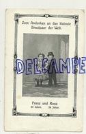 Cirque. Lilliputiens. 1910. Exposition Universelle De Bruxelles. Franz Et Rosa. Famille Ovitz Victime De Mengele - Cirque