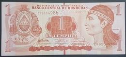 E11kb Banknote - HONDURAS 1 LEMPIRA, 2012, P-96, UNC - Honduras