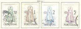 PORTUGAL, Commemoratives, AF 719-22 Yv 730-33, Used, F/VF, Cat. € 56 - Oblitérés