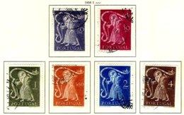 PORTUGAL, Commemoratives, AF 723-28 Yv 734-39, Used, F/VF, Cat. € 29 - Oblitérés