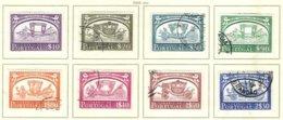 PORTUGAL, Commemoratives, AF 741-48 Yv 752-59, Used, F/VF, Cat. € 21 - Oblitérés