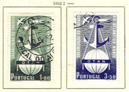 PORTUGAL, Commemoratives, AF 749-50 Yv 760-61, Used, F/VF, Cat. € 40 - Oblitérés