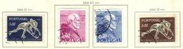 PORTUGAL, Commemoratives, AF 751-54 Yv 762-65, Used, F/VF, Cat. € 13 - Oblitérés