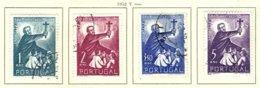 PORTUGAL, Commemoratives, AF 759-62 Yv 770-73, Used, F/VF, Cat. € 31 - Oblitérés